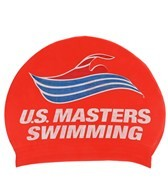 USMS Youth Latex Swim Cap
