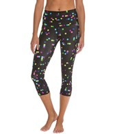 CW-X Women's 3/4 Length Stabilyx Running Tights Print