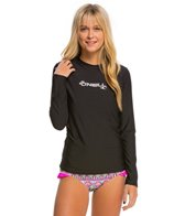 O'Neill Women's Basic Skins Long Sleeve Surf Tee
