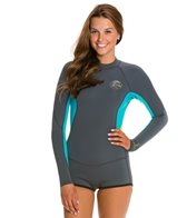O'Neill Women's 2/1MM Bahia Long Sleeve Spring Suit Wetsuit