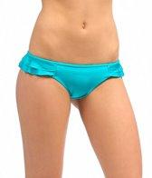 O'Neill Solid Ruffle Pant Bikini Bottom