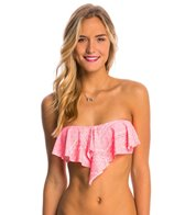 O'Neill Jessa Ruffle Bandeau Bikini Top