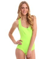 Body Glove Women's Smoothies Racerback Spring Suit