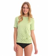 Body Glove Women's Loose Fit Short Sleeve Rashguard