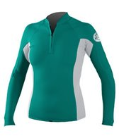 oneill-womens-seaside-l-s-zip-crew-rashguard