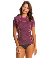 O'Neill Women's Seaside Short Sleeve Crew Rashguard