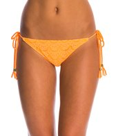 Roxy Swimwear Gypsy Moon Brazilian String Bikini Bottom