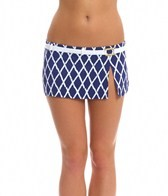 BLEU Rod Beattie Basket Case Swim Skirted Belt Hipster Bikini Bottom
