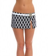 BLEU Rod Beattie Basket Case Swim Skirted Belt Hipster Bikini Bottom