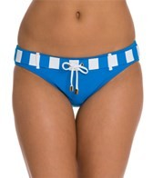 BLEU Rod Beattie Jailhouse Rock Belted Hipster Bikini Bottom