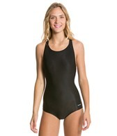Aquatica Polyester Conservative Solid Swimsuit