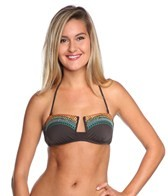Nanette Lepore Mayan Riviera Tease Bandeau Bikini Top