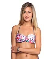 Nanette Lepore Fleur de la Mer Tease Twist Bandeau Bikini Top