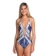 Nanette Lepore Deja Blue Seductress Monokini