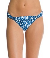 Profile Blush Swimwear Wild Blue Side Tab Bikini Bottom