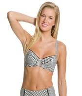 Profile Blush Brigitte Underwire Bra Bikini Top (D/E/F Cup)