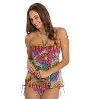 Profile by Gottex Mexicana Twist Bra Bandeau Bikini Top
