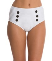 Seea Chicama Cableknit High Waist Bikini Bottom