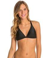 Eidon Solid Honolulu Halter Bikini Top