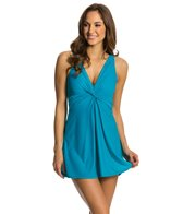 Miraclesuit Solid Marais Swim Dress