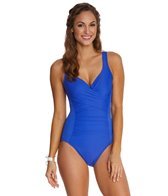 Miraclesuit Solid Ambrosia Ruched One Piece