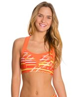 Cozy Orange Venus Sports Bra