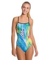 Sporti Spiffiez Animalistic Thin Strap Swimsuit