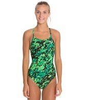 TYR Team Digi Camo Diamondfit One Piece Swimsuit