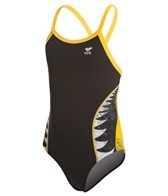 TYR Shark Bite Youth Diamondfit One Piece Swimsuit