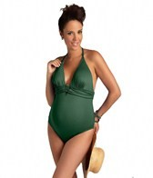 Pez D'or Maternity Martinique Halter One Piece