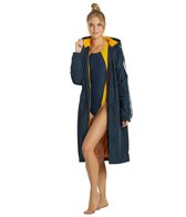 Sporti Striped Comfort Fleece-Lined Swim Parka