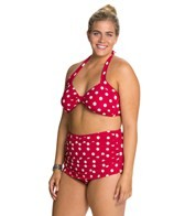 Esther Williams Polka Dot Classic Two Piece Set
