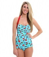 Girlhowdy Annie Frock One Piece Swimsuit