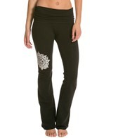 Jala Clothing Mandala Gathered Waist Yoga Pant