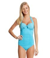 Seafolly Goddess Soft Cup Halter One Piece Swimsuit