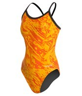 Sporti Waves Thin Strap Swimsuit Youth (22-28)