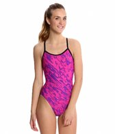 Sporti Waves Thin Strap Swimsuit