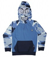 Volcom Boys' Platoon Block Half Zip Fleece Hoodie (2T-4T)