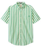 Volcom Men's Weirdoh Stripe Short Sleeve Shirt