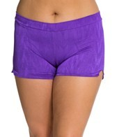 UJENA Plus Size High Waisted Boy Shorts