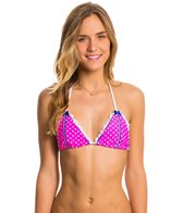 Beach Bunny Haute Dot Triangle Bikini Top