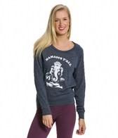 Funky Yoga Namaste Y'all Organic Pullover