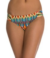 Kenneth Cole Upon The Horizon Sash Tab Hipster Bikini Bottom