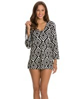 kenneth-cole-tribal-beat-v-neck-tunic
