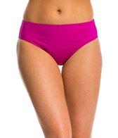 Kenneth Cole Sunset Cliffs High Waisted Bikini Bottom