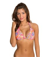 O'Neill Swimwear Citrus Floral Triangle Bikini Top