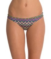 EQ Swimwear Retro Flames Poly Streamline Bikini Bottom