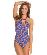 Peixoto Inga Cut Out One Piece Swimsuit
