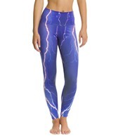 Om Shanti Clothing Violet Lightning Yoga Leggings