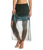 Yak & Yeti Dip Dye Shiffan Maxi Skirt
